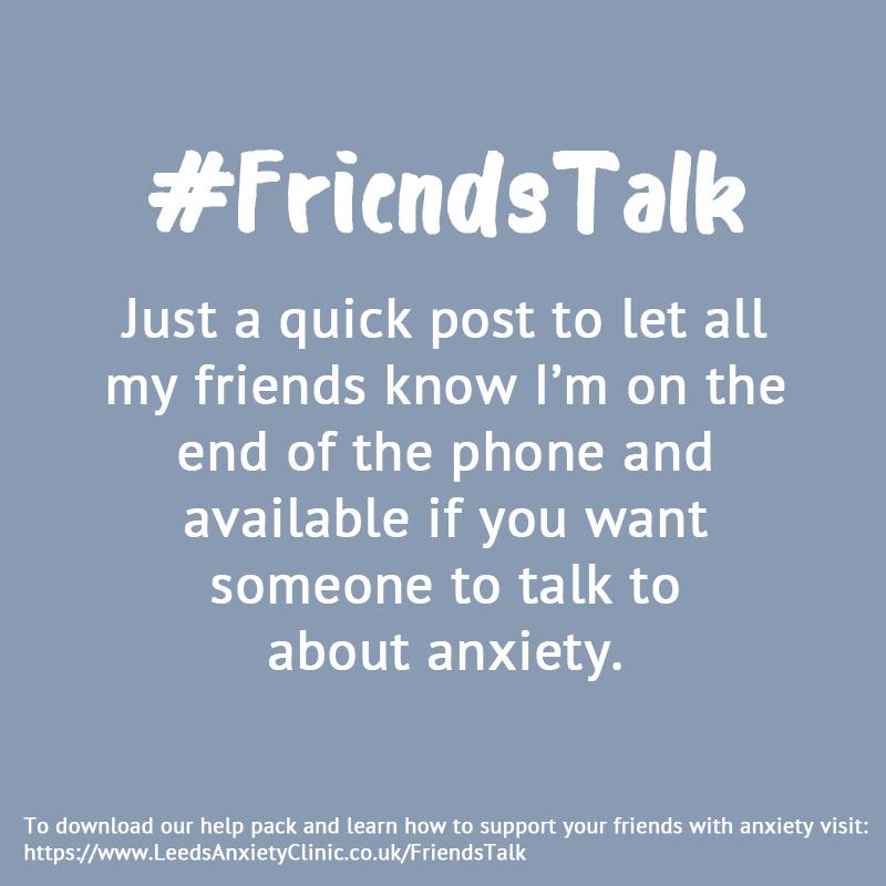 FriendsTalk campaign